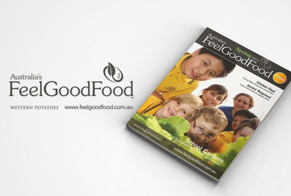 Feel Good Food campaign for Western Potatoes by Hook and Loop